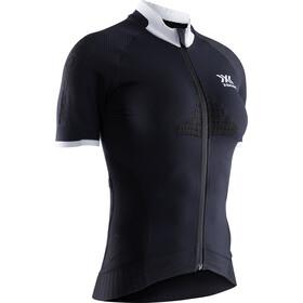 X-Bionic Invent 4.0 Bike Race Maglietta a maniche corte con zip Donna, opal black/arctic white